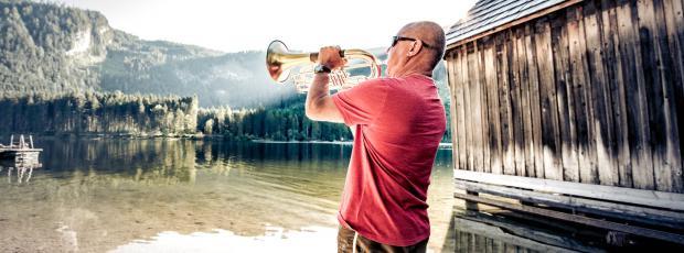 Musizieren rund um den Ödensee als einzigartiges Lebensgefühl von Aussee.