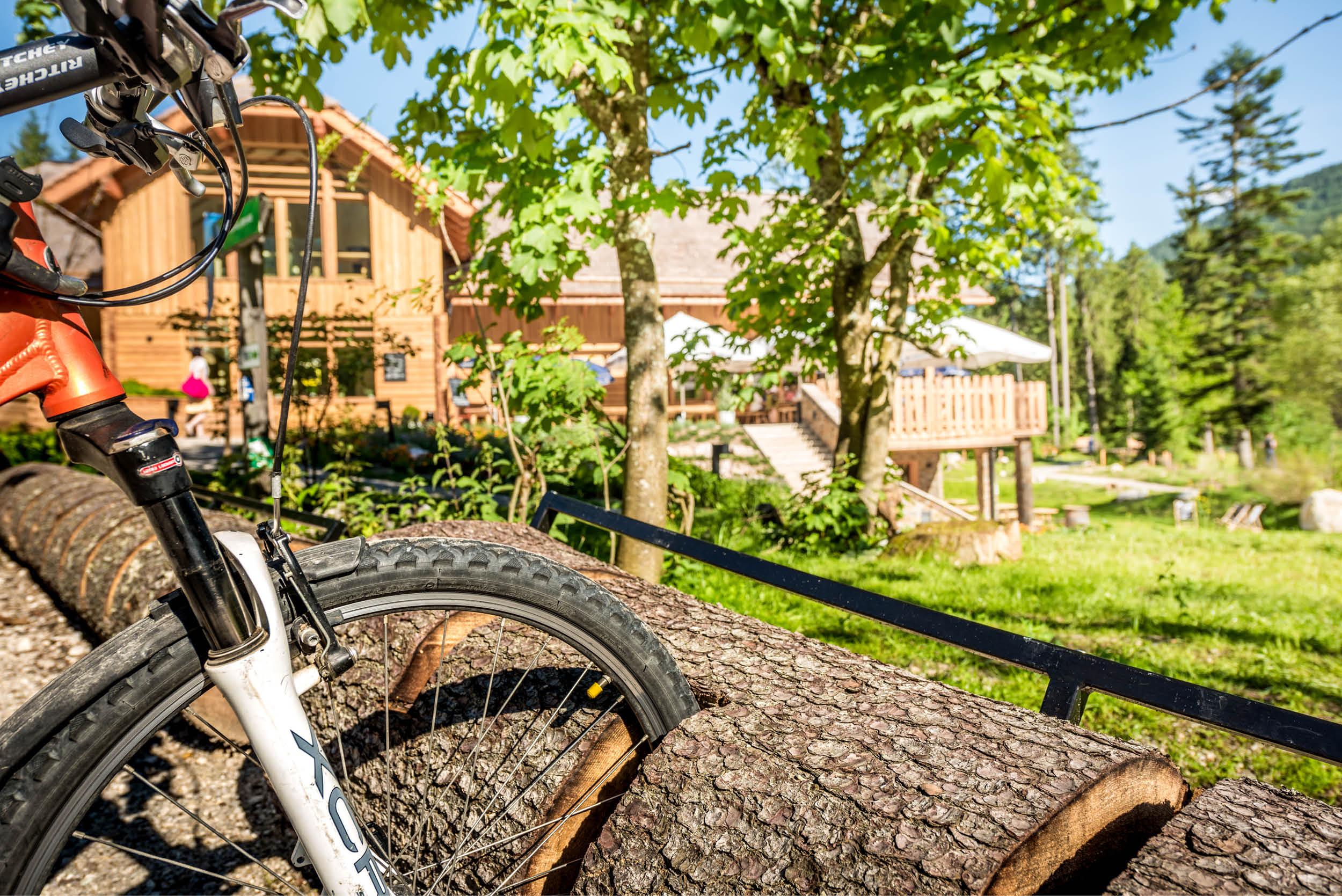 Radfahren rund um den Ödensee und der Kohlröserlhütte.