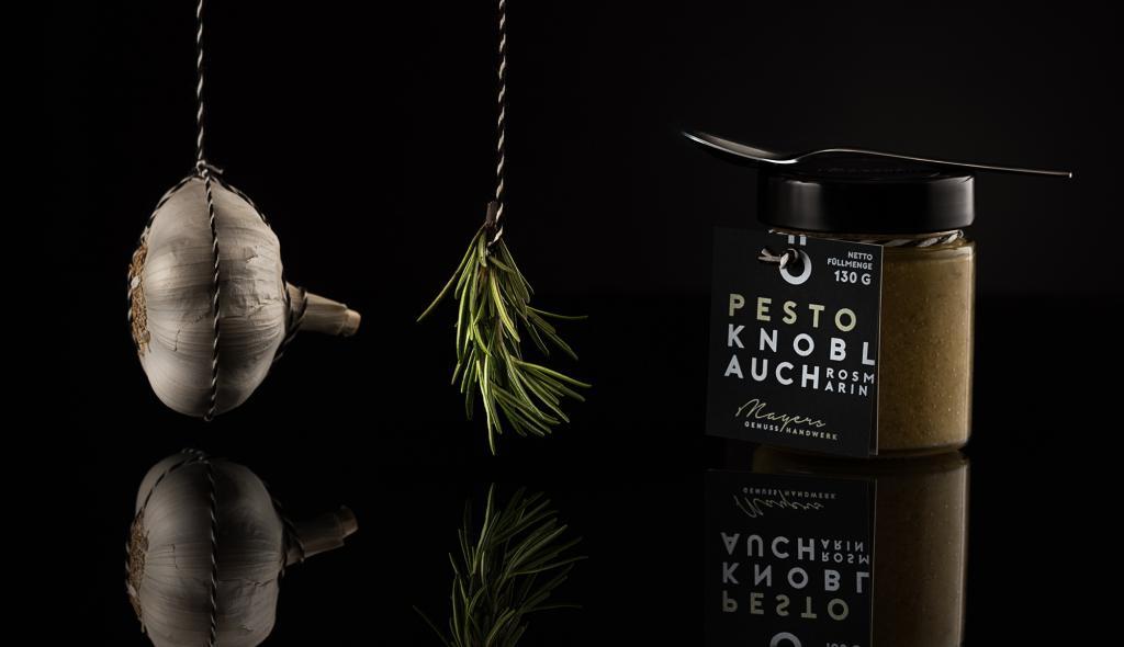 Pesto Knoblauch