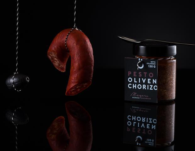 Pesto Oliven Chorizo