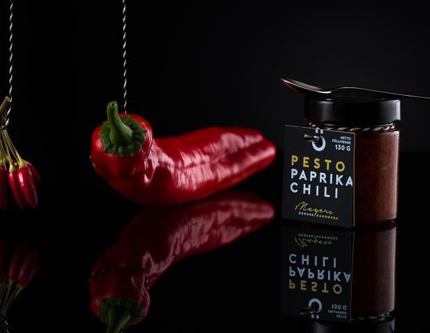 Pesto Paprika Chili