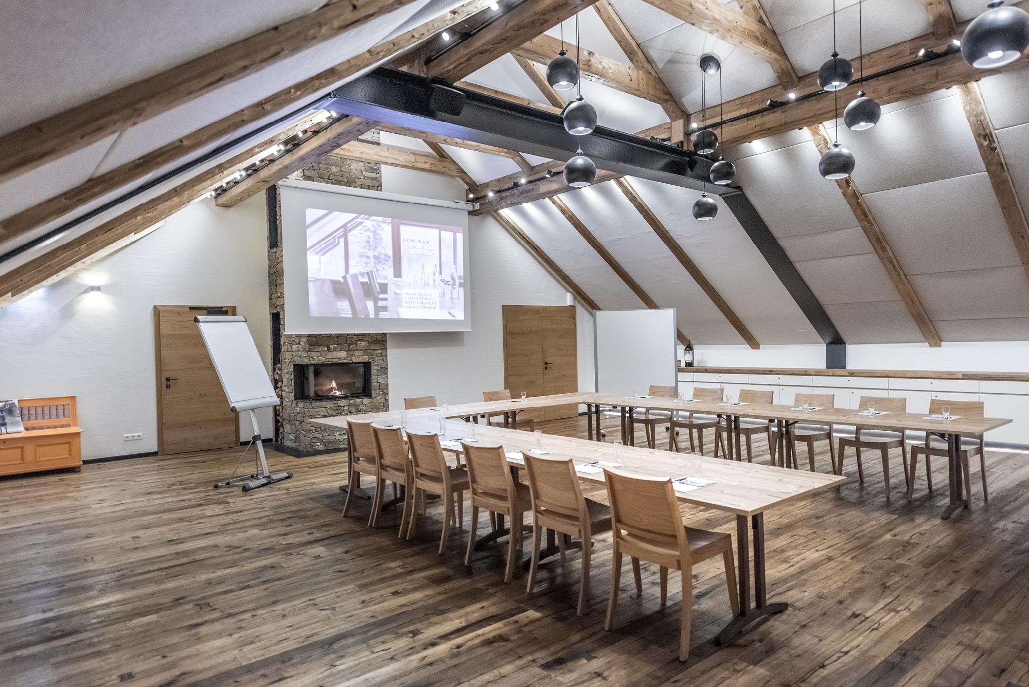 Der Seminarraum Weitblick – mitten im idyllischen Naturschutzgebiet Ödensee