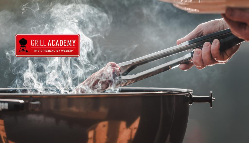 Manfred Mayer führt Sie in den Weber Way of Grilling ein