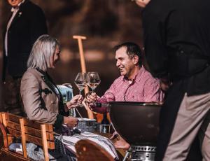 Wein trinken am Ödensee